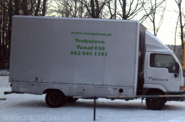 www.cargotaxi.nl     20m3 Moving truck.