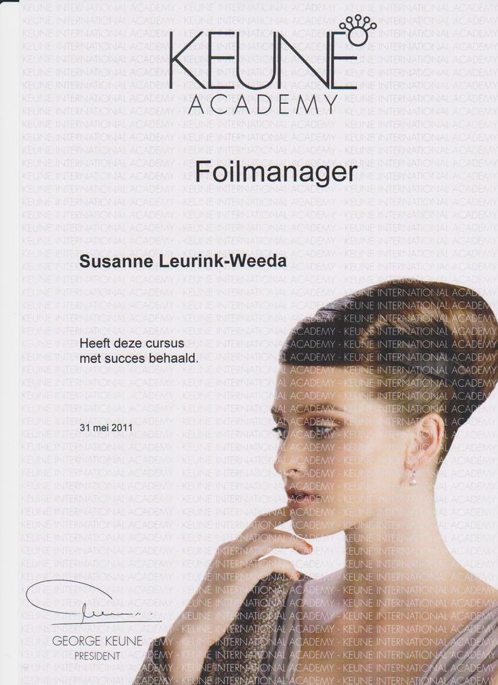 Foilmanager