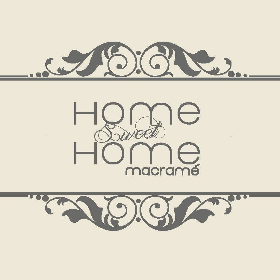 Home sweet home Macramé