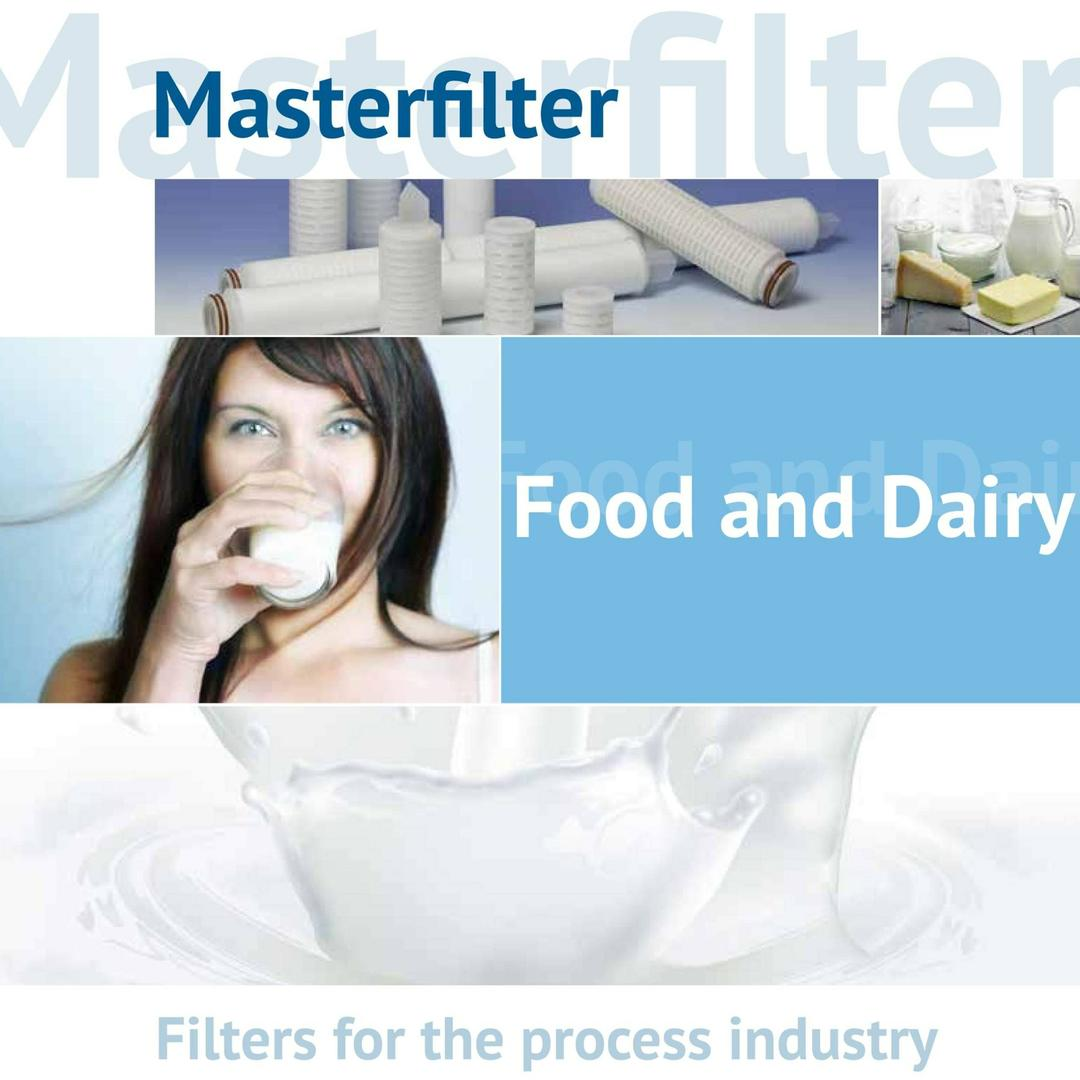 Masterfilter filters filtratie zuivel wei