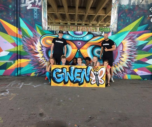 graffiti workshops en feesten